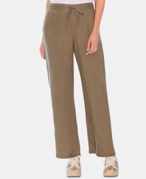 Vince Camuto Pants LINEN DRAWSTRING PANTS