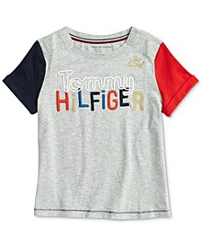 Little and Big Girls' Granada Fashion T-Shirt with Velcro® at Shoulder