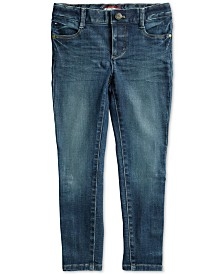 Tommy Hilfiger Adaptive Girls' Toni Skinny Jeans with Magnetic Closure