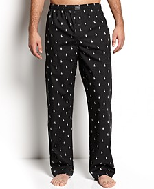 Men's Polo Player Pajama Pants
