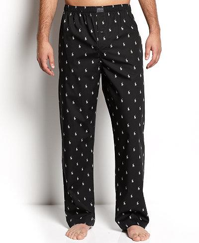 Polo Ralph Lauren Men S Polo Player Pajama Pants Pajamas