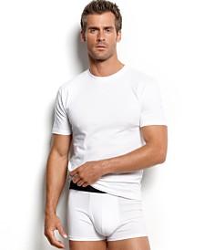 Alfani Men's Underwear, Big & Tall 3 Pack Tagless Crew Neck Undershirts