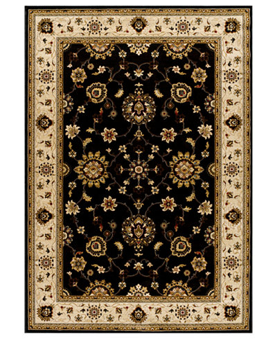 CLOSEOUT! Kenneth Mink Area Rug, Warwick Tabriz Black/Wheat 2'3