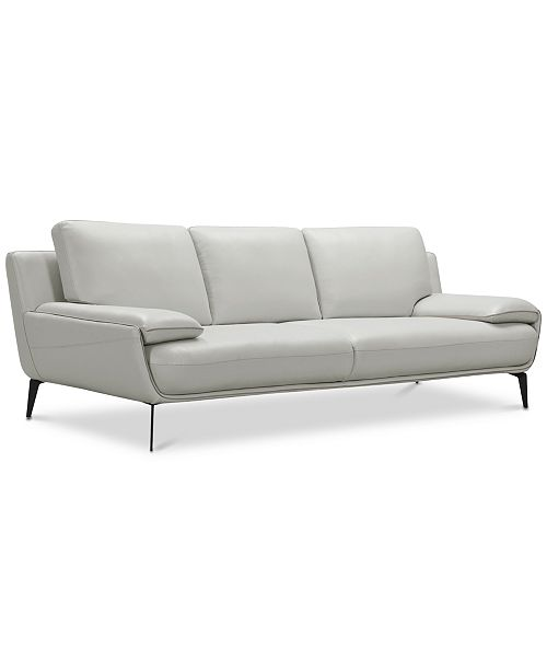 Surat 97 Leather Sofa, Created for Macy\'s