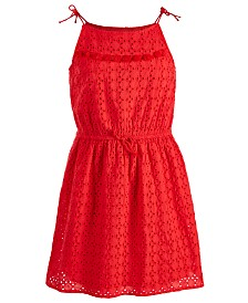 Epic Threads Big Girls Eyelet Sundress, Created for Macy's