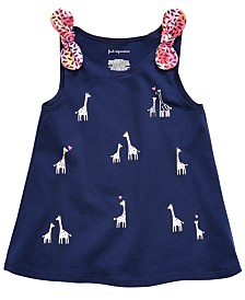 First Impressions Toddler Girls Giraffe-Print Tank Top, Created for Macy's