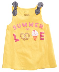 First Impressions Baby Girls Love-Print Tank Top, Created for Macy's