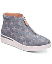 dd95885c0eec Gentle Souls by Kenneth Cole Women s Hazel-Fay High-Top Wedge Sneakers