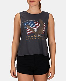 Hurley Juniors' Eagle Rider Cotton Cropped Tank Top