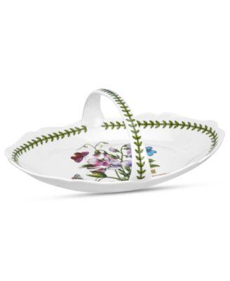 Dinnerware, Botanic Garden Oval Bread Basket