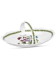 Portmeirion Dinnerware, Botanic Garden Oval Bread Basket