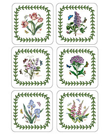 Portmeirion Coasters, Set of 6 Botanic Garden