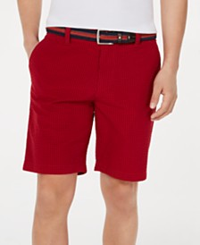 """Tommy Hilfiger Men's Jerry Gingham 9"""" Shorts, Created for Macy's"""
