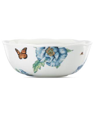 Dinnerware, Butterfly Meadow Blue Serving Bowl