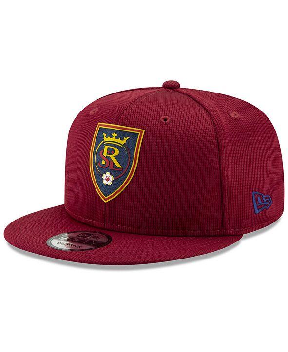 New Era Real Salt Lake On Field 9FIFTY Snapback Cap
