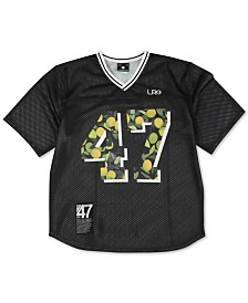 LRG Men's Football Jersey Graphic T-Shirt