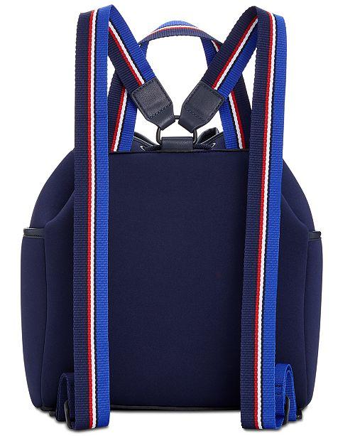 68c8929b Tommy Hilfiger Derby Neoprene Backpack & Reviews - Handbags ...