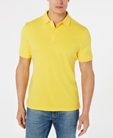 Club Room Men's Interlock Short-Sleeve Polo, Created for Macy's