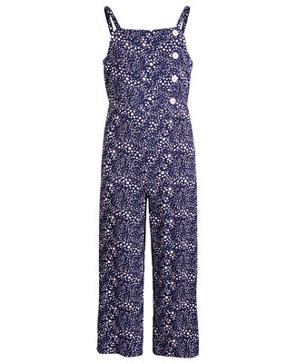 Big Girls Star Print Jumpsuit, Created For Macy's by General
