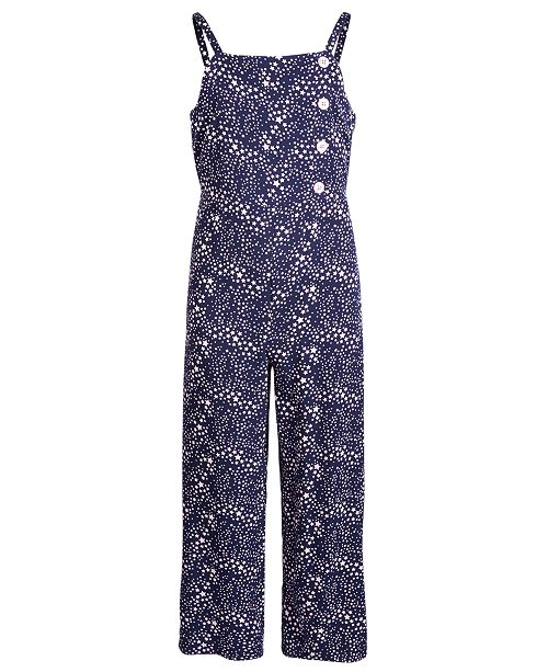 Epic Threads Big Girls Star-Print Jumpsuit, Created for Macy's