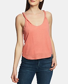 1.STATE Twist-Strap Racerback Top