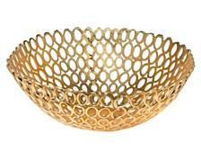 Godinger Oval Rings Bowl - Large