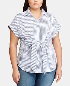 e6a76a07 Clearance/Closeout Ralph Lauren Plus Size Clothing - Macy's