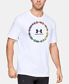 Under Armour Men's United We Win Pride Circle Short Sleeve Tee
