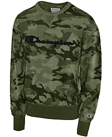 Champion Men's Camo-Print Sweatshirt