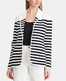 Lauren Ralph Lauren Striped Jacket