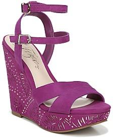 Fergie Bold Wedge Sandals