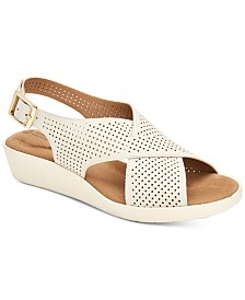 Giani Bernini Falalah Wedge Sandals, Created for Macy's