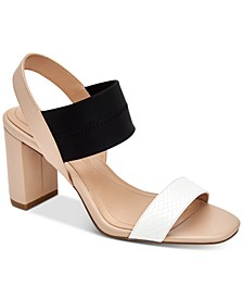 Women's Fllip Neoprene Dress Sandals, Created for Macy's