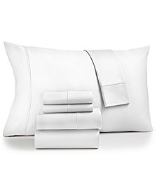 Fairfield Square Collection Sydney 6-Pc. Queen Sheet Set, 825-Thread Count Egyptian Blend, Created for Macy's