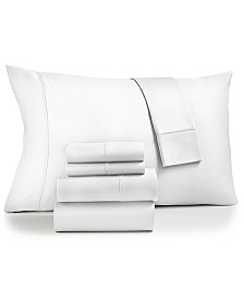 Fairfield Square Collection Sydney 6-Pc. Extra Deep Pocket California King Sheet Set, 825-Thread Count Egyptian Blend, Created for Macy's