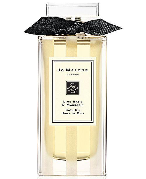 Jo Malone London Lime Basil & Mandarin Bath Oil, 1-oz.