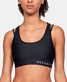 Under Armour HeatGear® Cross-Back Mid-Impact Sports Bra