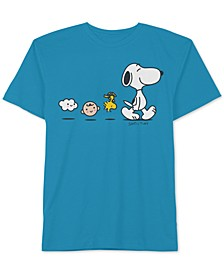 Collection-Toddler & Little Boys Be Happy Snoopy Graphic Cotton T-Shirt