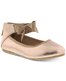Kenneth Cole Toddler Girls Rose Bow Flats