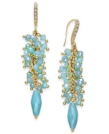I.N.C. Shaky Cluster Drop Earrings, Created for Macy's