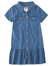 Big Girls Ava Denim Dress
