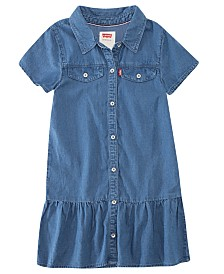 Levi's® Big Girls Ava Denim Dress