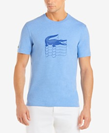 Lacoste Men's Stacked Logo Graphic T-Shirt