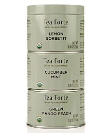 Tea Forte LTC Trio Green Tea Loose-Leaf Tea