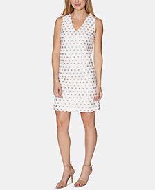 Laundry by Shelli Segal Sequinned Shift Dress
