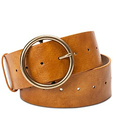 I.N.C. Classic Panel Belt, Created for Macy's