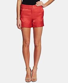Shimmer Satin Shorts