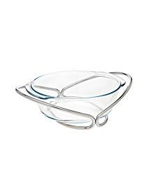 2 Qt Glass Round Baker