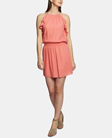 1. STATE Ruffled A-Line Mini Dress