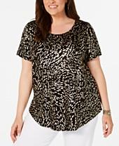 bfaadd8f09f Plus Size Dressy Tops: Shop Plus Size Dressy Tops - Macy's